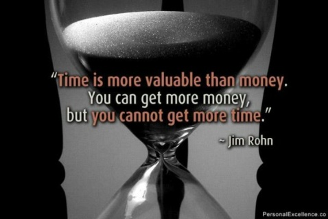 Time is more important