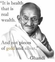 Gandhi health
